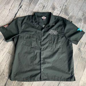 Harley Davidson Bahamas Trucker Button Shirt XXL